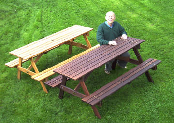 long lasting picnic tables - Garden Furniture Table Bench Seat